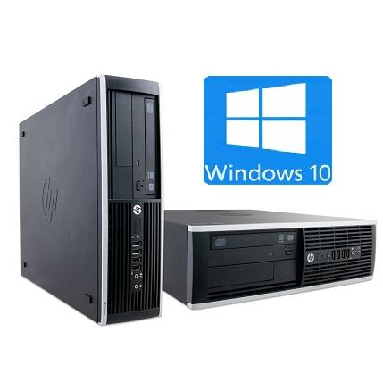 HP Intel i5 3470 | 4x3,6 GHz | 8GB DDR RAM | 500GB HDD | DVD RW | Win 10