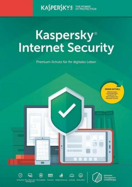 Kaspersky Internet Security 2020 für 3PC