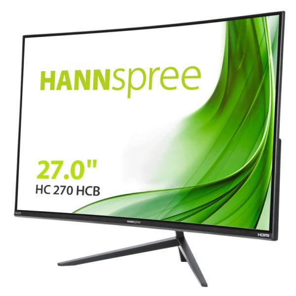 "27"" Hannspree 68,6cm HC270HCB 16:9 VGA+HDMI VA Curved"