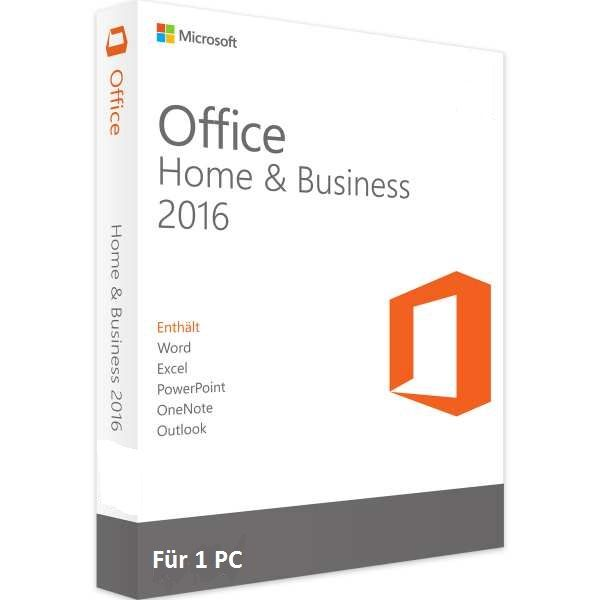 Microsoft Office 2016 Home und Business Edition ESD