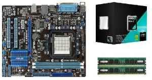 Bundle | AMD A8 9600 4Core 4x3.4GHz | 8GB DDR4 RAM | Mainboard | Kühler