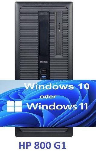 HP Intel 800 G1 / i7 4770 / 8x3.9GHz/ 16GB RAM/ 500GB SSD / Win10 Pro