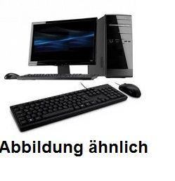 Komplett Rechner mit Monitor Core i5 4430 | 4x2,7@3,3 GHz | 8GB DDR RAM | 250 GB SSD + 22 Zoll Moni